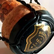 champagne Bollinger in degustazione