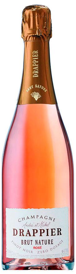 Bottiglia Drappier Brut Nature Rosé