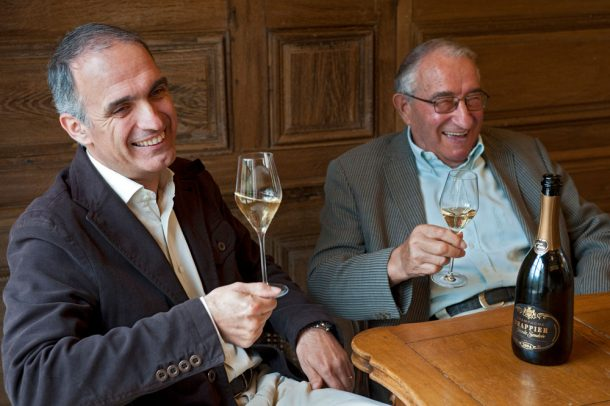 Michel Drappier e suo padre André