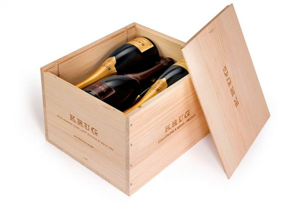 Cassetta legno Krug 'Les Créations de 2004'