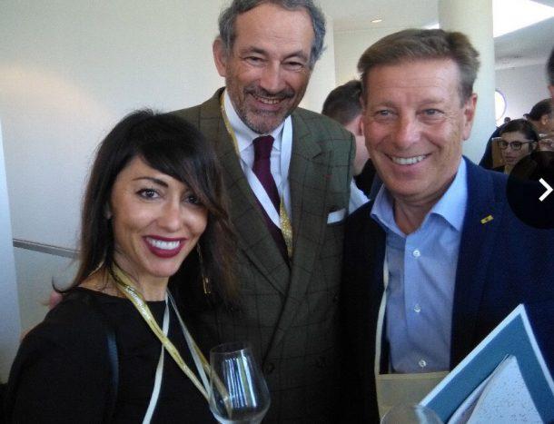 Vanta Valentini, Bruno Paillard e Ruben Larentis
