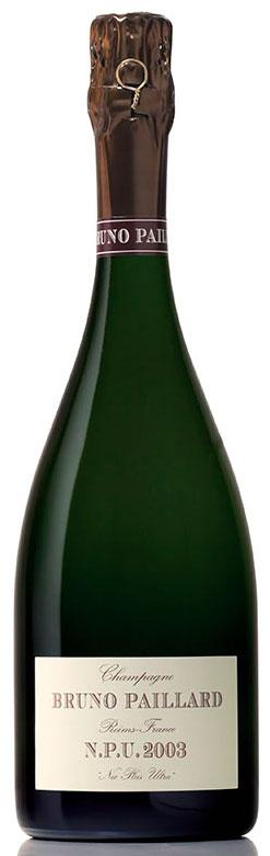 Bottiglia di champagne Bruno Paillard N.P.U. 2003