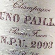 Champagne Bruno Paillard N.P.U. 2003