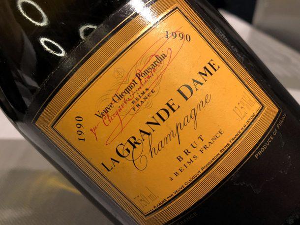 Veuve Clicquot La Grande Dame 1990