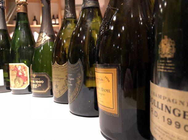 Orizzontale champagne 1990