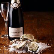 champagne Roederer e Ostriche