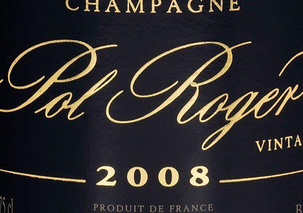 Pol Roger vintage 2008