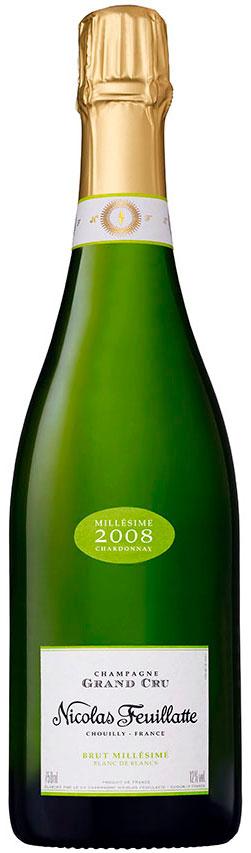 Bottiglia champagne 2008 Nicolas Feuillatte