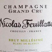Degustazione champagne Nicolas Feuillatte 2008