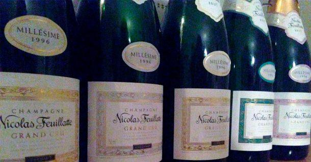 Linea champagne Grand Cru di Nicolas Feuillatte