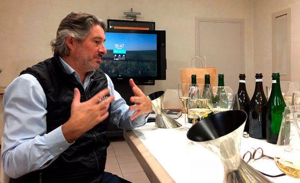 Benoît Gouez, chef de cave di Moët & Chandon