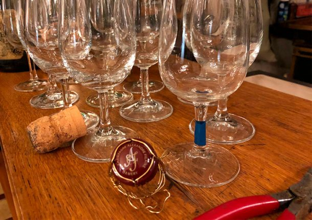 verticale champagne Alexandre Filaine