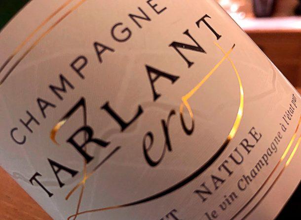 Degustazione champagne Tarlant Zéro