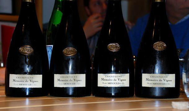 Degustazione champagne Michel Arnould