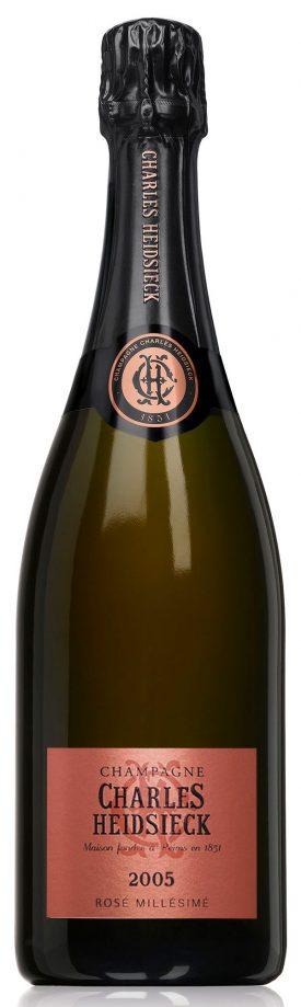Bottiglia di Charles Heidsieck Rose Réserve 2005