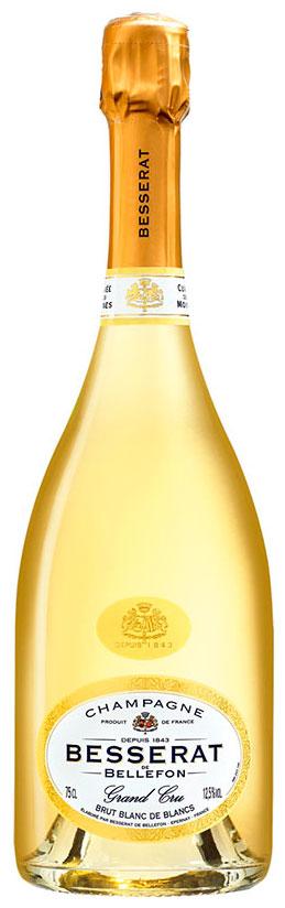 Bottiglia di Besserat de Bellefon Blanc de blancs