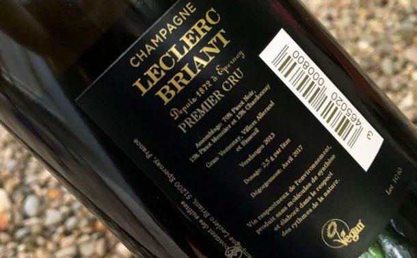 controetichetta champagne Leclerc