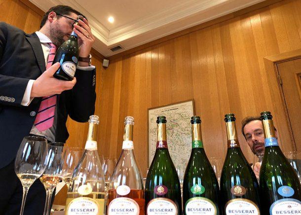 Degustazione con Matthieu Luneau e Cédric Thiebaul