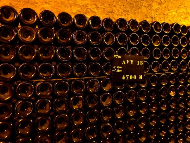 Vini di riserva Bollinger