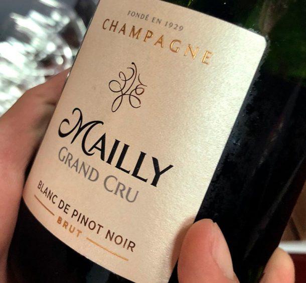 Mally champagne pinot noir