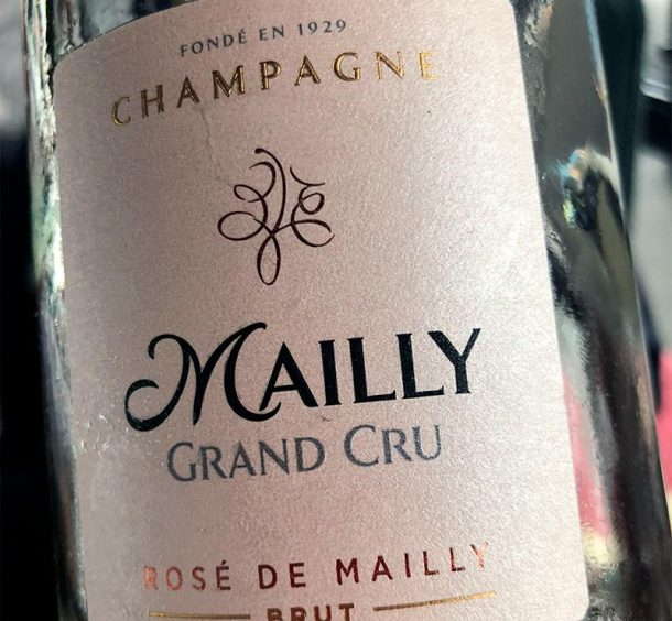 Mally champagne rosé