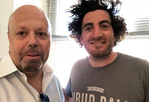 Guillaume Selosse e Alberto Lupetti