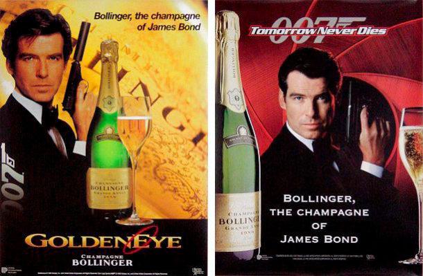 Bollinger e locandine 007