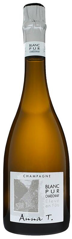 Bottiglia di Blanc Pur Chardonnay Anna T