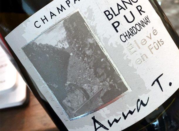 Degustazione Champagne Blanc Pur Chardonnay Anna T