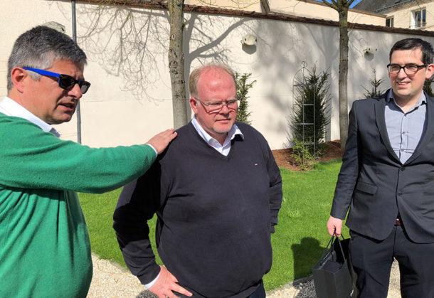 Antoine Roland-Billecart, Denis Blue e Florent Nys