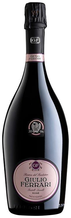 Bottiglia di Giulio Ferrari Rosé