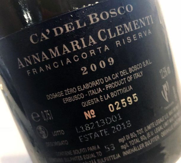controetichetta della Annamaria Clementi