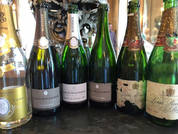 Degustazione champagne Roederer