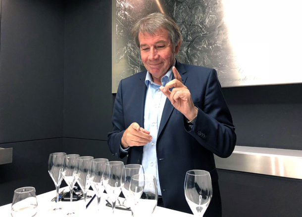 Michel Fauconnet, chef de cave di Laurent-Perrier
