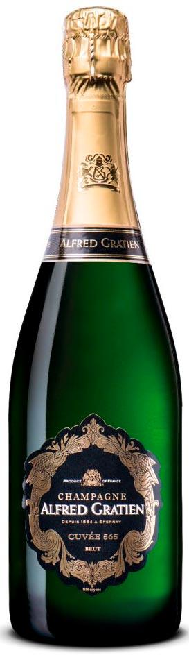 Bottiglia Champagne Alfred Gratien 565