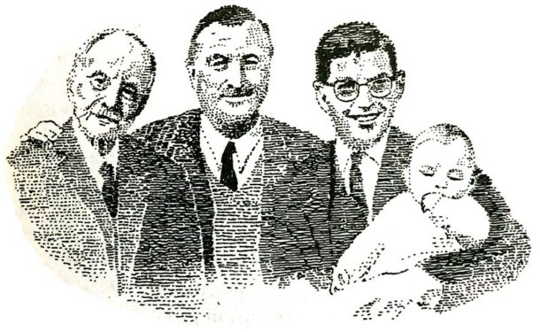 Krug, foto di famiglia