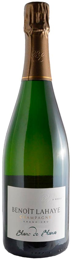 Bottiglia di Benoît Lahaye Blanc de Blancs.