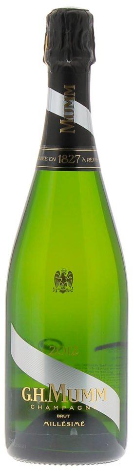 Bottiglia Mumm millemimato 2012