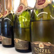 Le bottiglie della degustazione Joyau de France