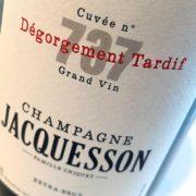 Etichetta Jacquesson Cuvée 737 D.T.