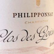 Etichetta champagne Philipponnat Clos des Goisses