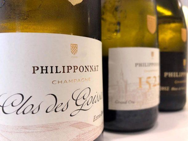 Champagne Philipponnat in degustazione