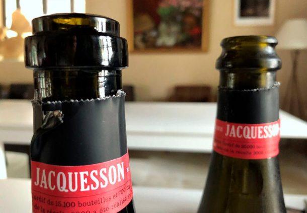 Bottiglie Jacquesson a confronto