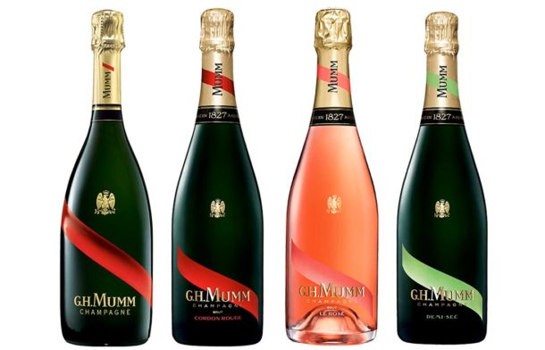 Nuove bottiglie G.H. Mumm