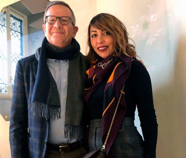 Arturo Ziliani e Vania Valentini
