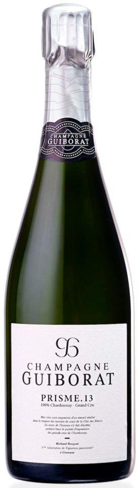 Bottiglia champagne Guiborat Prisme.13