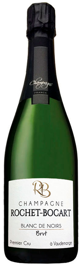 Bottiglia di champagne Rochet-Bocart Blanc de Noirs