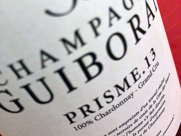 Champagne Guiborat Prisme.13