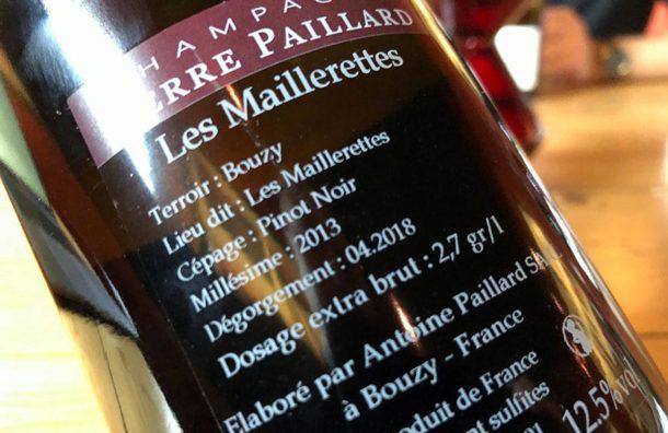 controetichetta Les Maillerettes 2013