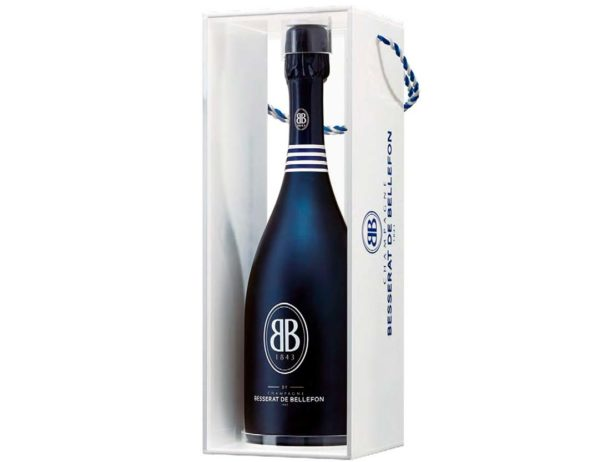 Bottiglia di Besserat de Bellefon BB 1843